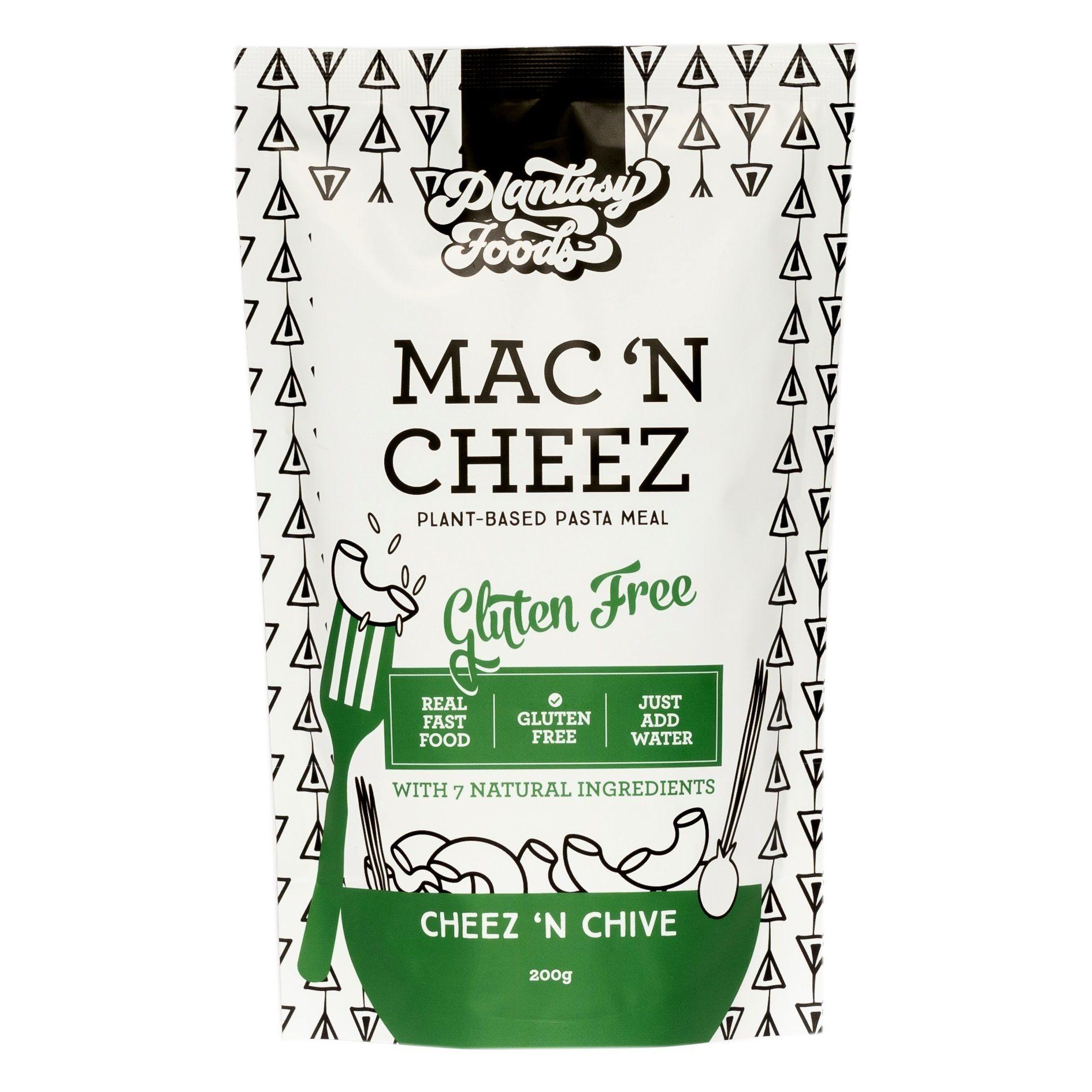 Mac 'n Cheez - 10 BULK PACK - Chive - Vegan, Gluten Free ...