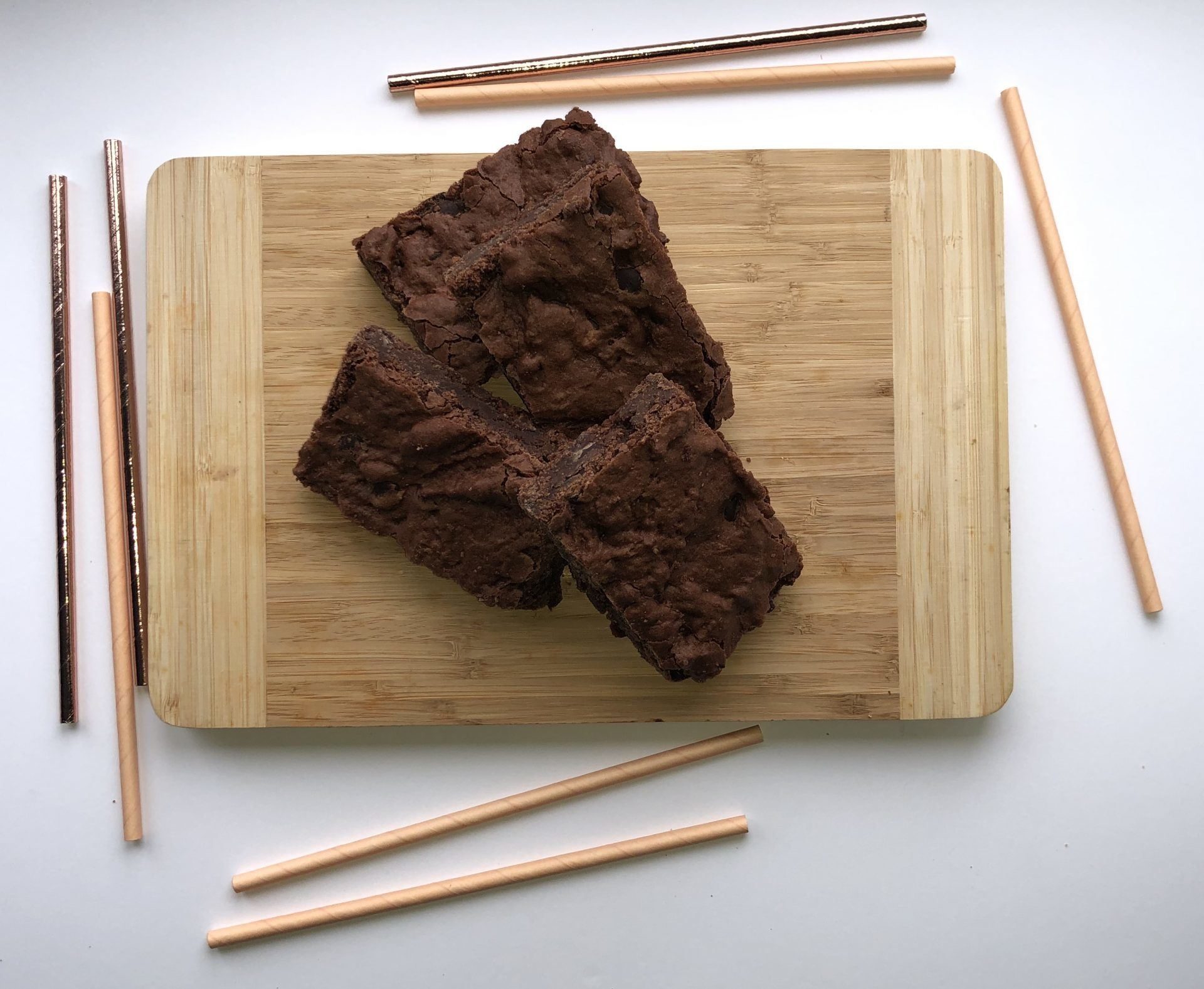 Vegan chocolate brownie