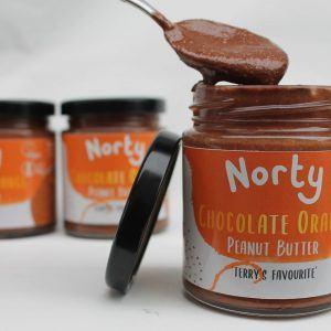 Organic chocolate orange peanut butter