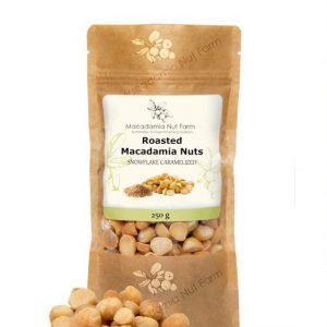 Caramalised macadamia nuts