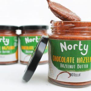 All natural hazelnut butter made from all natural ingredients, it makes the ultimate vegan snack