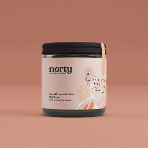 Norty Salted Caramel Cashew Nut Butter