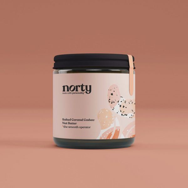 Norty Salted Caramel Cashew Nut Butter
