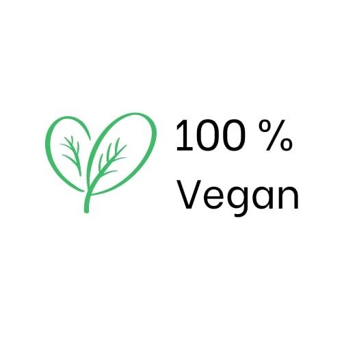 100 percent Vegan
