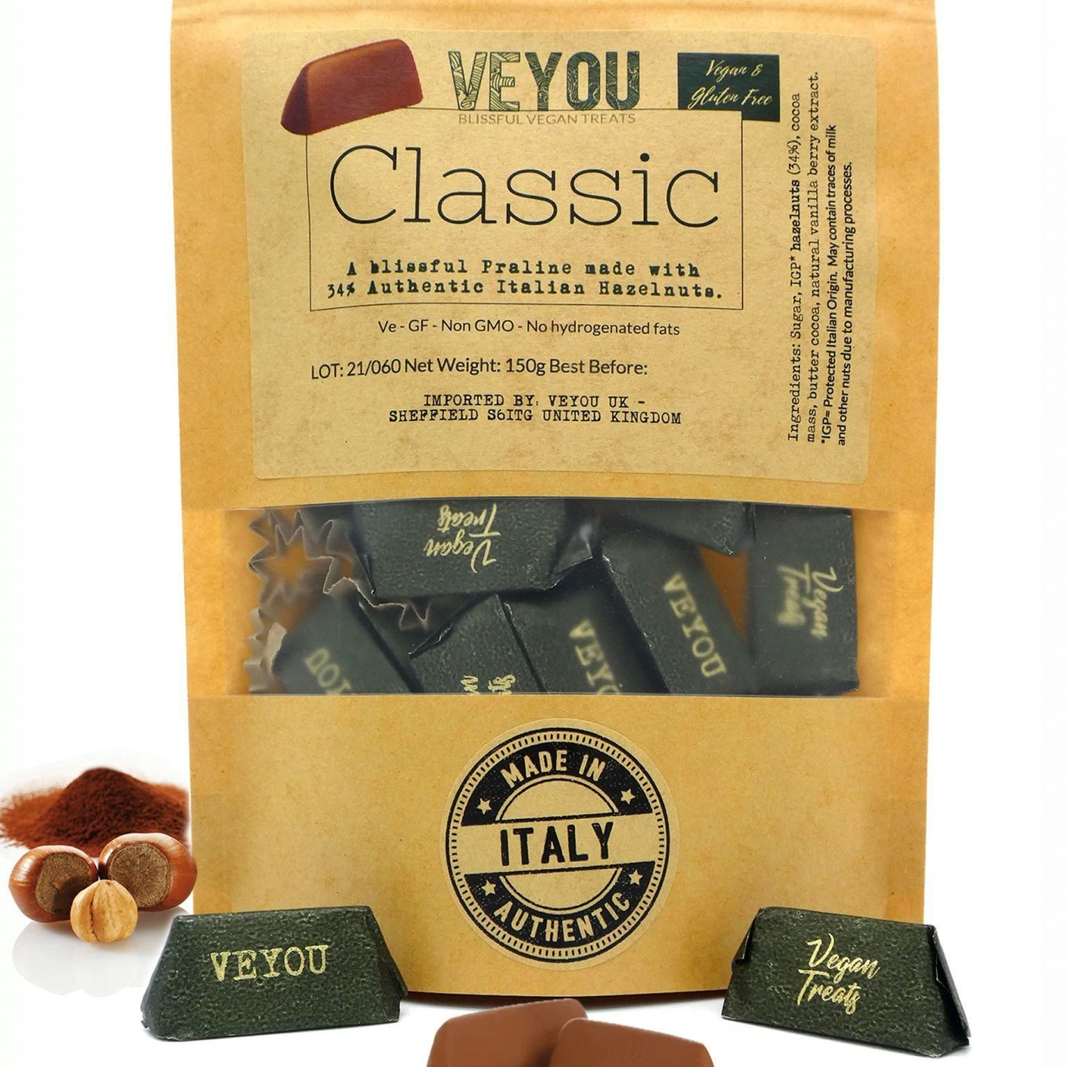 veyou-Might Classic Front design
